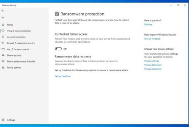 ramsomware protection